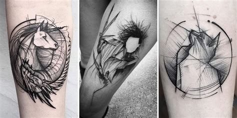 sketch tattoo style 40 fascinating sketch style designs tattooblend