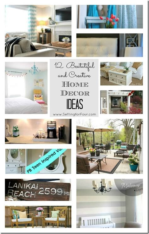 10 clever home decor ideas to max out the style of small project inspire d linky party no 14 welcome setting