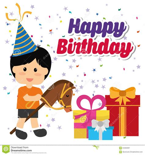graphic design happy birthday happy birthday design stock vector image 64303097