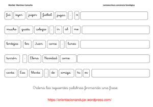preguntas aleman sencillo lectoescritura conciencia fonol 243 gica frases orientacion