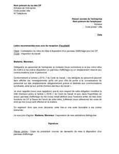 Lettre De Contestation De Refus De Visa Gratuit Exemple Gratuit De Lettre Contestation Refus Employeur