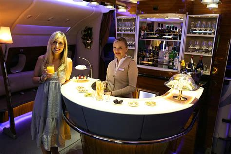 emirates a380 first class a 18 000 dollar flight in the emirates first class suite