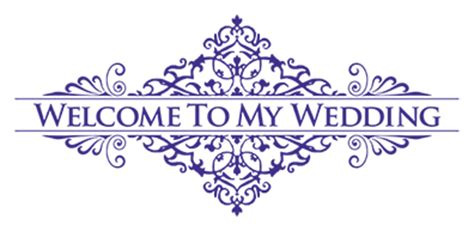 wedding wishes logo out of business welcome to my wedding