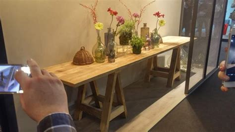 cavalletti in legno per tavoli tavolo con cavalletti in legno vecchio a salizzole