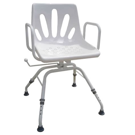 shower chair with swivel seat shower chair standard attendant propelled shower chair