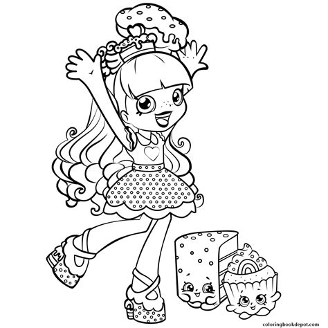 shopkins coloring pages lippy lips scarce lippy lips shopkins coloring page pages 6659