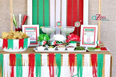 5 de Mayo Party Ideas ? A to Zebra Celebrations
