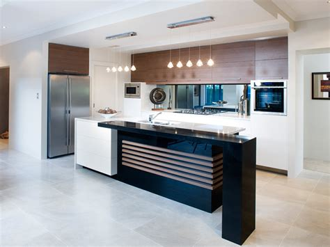 modern kitchen living kitchen design using marble