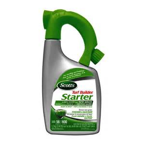 scotts turf builder all season starter lawn fertilizer