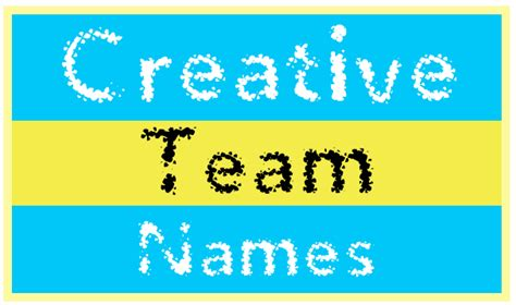 creative names creative team names image sports feel stories