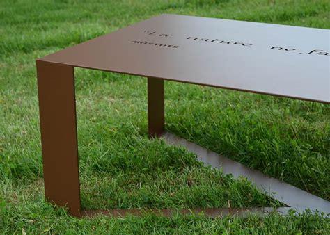 table metal exterieur table de salon de jardin en m 233 tal 14 couleurs en vente