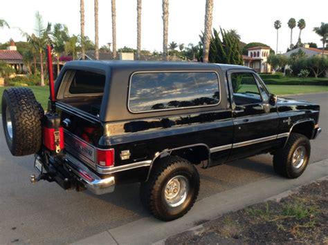 1986 chevrolet k5 blazer 1986 chevrolet k5 blazer custom sport utility 2 door 5 0l