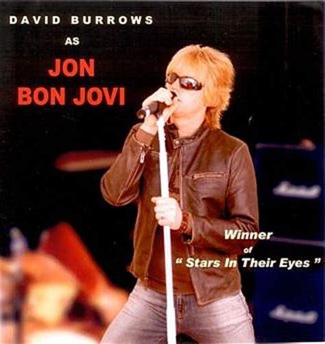Jon Bon Jovi Novel by Jon Bon Jovi Tribute Act By David Burrows Book Now With