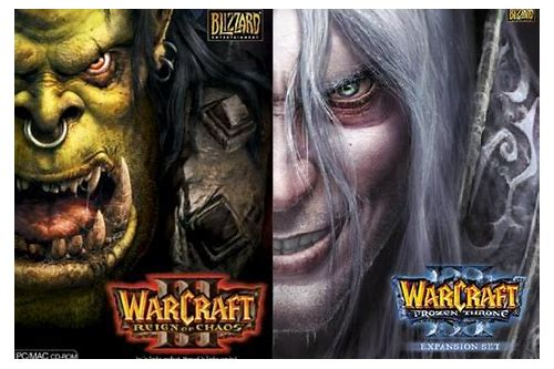 descargar warcraft 3 frozen throne windows 7