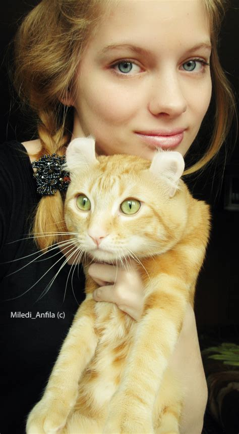 me and my cat me and my cat by anfila on
