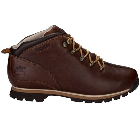 Airwalk Hiker Leather Syn Brown mens timberland splitrock hiker boots in brown from get the label