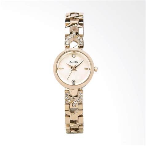 Alba Ary96g Jam Tangan Wanita Gold jual alba ah7m44x1 jam tangan wanita gold harga