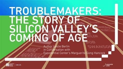 Troublemakers Silicon Valley S Coming Of Age chm live troublemakers the story of silicon valley s coming of age