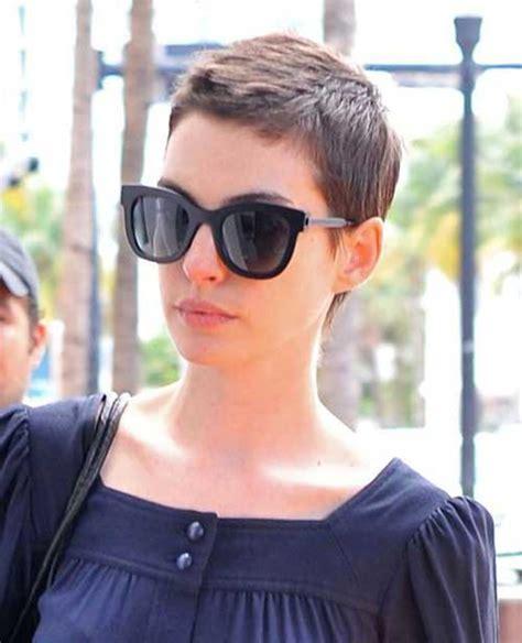15 Best Anne Hathaway Pixie Haircuts   Pixie Cut 2015