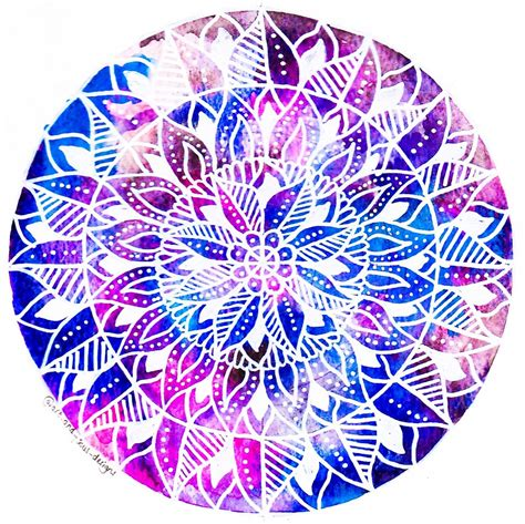 Colored Duvet Covers Quot Galaxy Mandala Design Quot By Art And Soul Redbubble