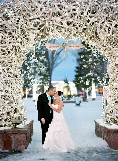 beautiful winter wedding color themes nytexas winter wedding in jackson hole wyoming