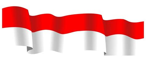 vector design background merah bendera spanduk