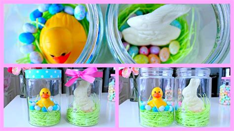 diy easter gifts diy easter gift ideas easter jars youtube