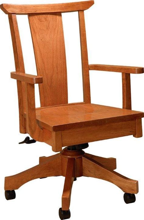free wooden desk chair plans woodproject