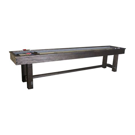 a shuffleboard table 12 imperial reno rustic shuffleboard table shuffleboard