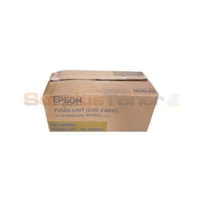 Epson Fuser Unit M4000n C13s053038 epson aculaser m4000 fuser unit 220 240v c13s053038ba