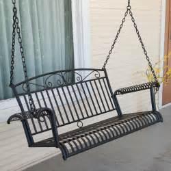 wrought iron patio swing international caravan tropico wrought iron 4 ft porch