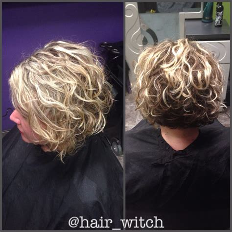inverted bob on natual black hair natural curly short inverted blonde bob styled with