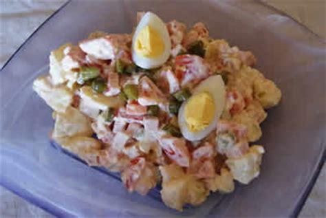 pomme de terre oignon oeuf salade recette facile