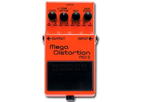 Md2 Mega Distortion Pedal Md2 Mega Distortion Guitar Pedal