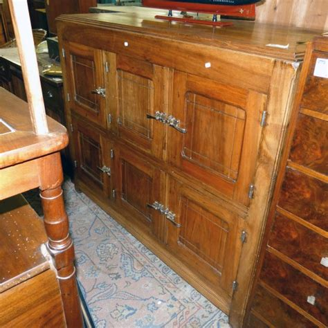 meuble frigo ancien