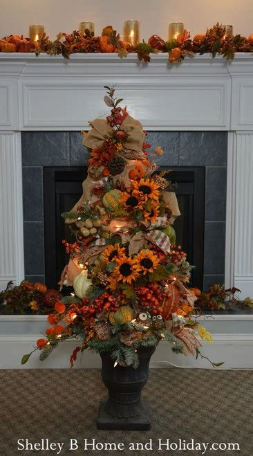 easy ways to decorate a 4 ft tree fall decorations a shelley b home and