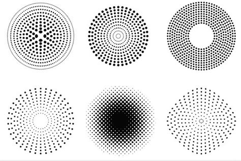 circle pattern ai free download circles dot vector free vector for free