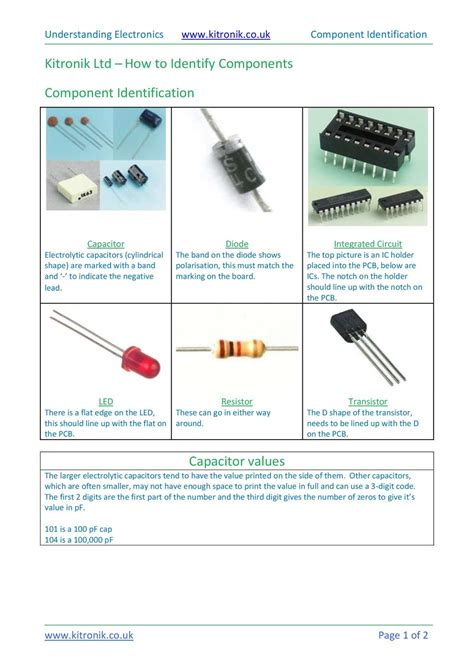 identify capacitor markings identification what of capacitor is 28 images calam 233 o how to identify electronic