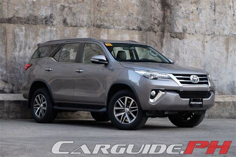 toyota 2 review review 2016 toyota fortuner 2 8 v philippine car news
