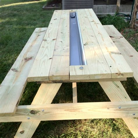 Cooler Picnic Table by Cooler Picnic Table With Popup Bathtub Drainage