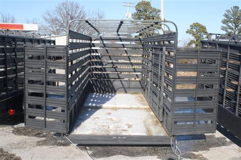 Livestock Rack For by Used 2015 Slide In Cattle Racks For A Utility Trailer