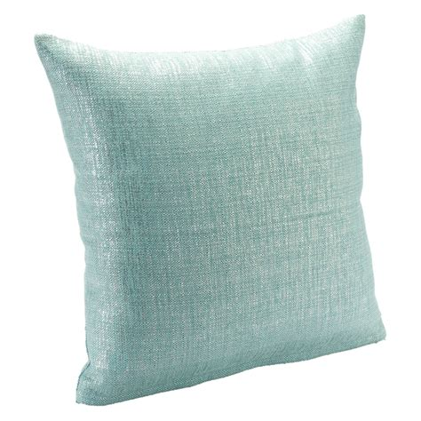Aqua Pillow by Sis Covers Sparkly Aqua Pillow Decorative Pillows At