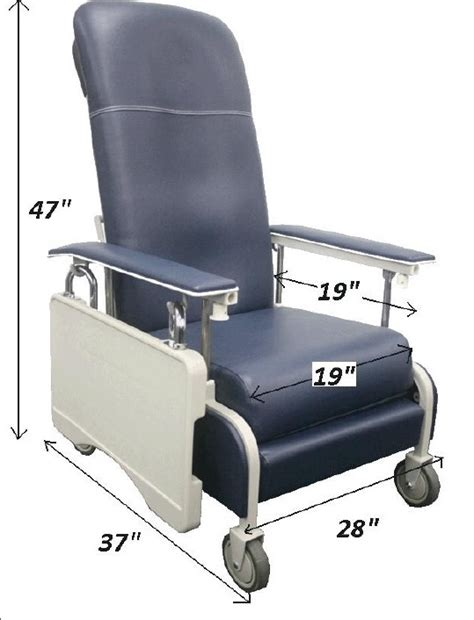 mobile recliner chairs hospital bed accessories