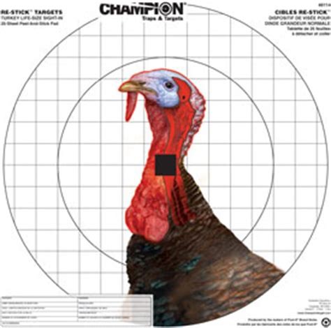 printable wild turkey targets nwtf convention coverage video new re stick turkey sight