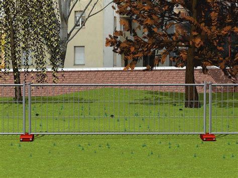 recinzione mobile recinzione mobile bassa da cantiere minicornice ferro
