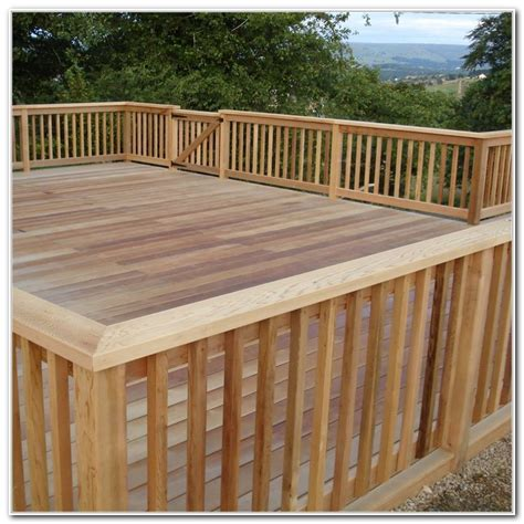 deck railing ideas wood deck railing ideas decks home decorating ideas