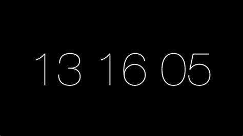 wallpaper timer mac minimalist clock screen savers for mac