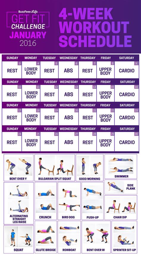 7 day workout plan at home home design and style