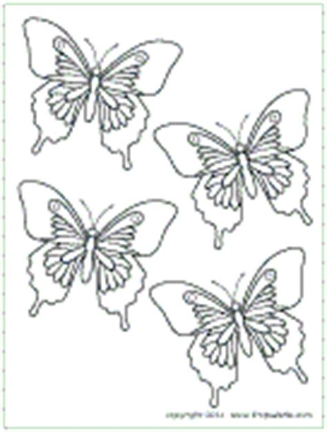 small butterfly coloring pages butterfly printable templates coloring pages