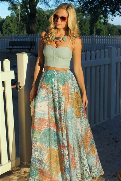 maxi skirt vintage skirts crop top american eagle tops